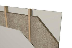 دیوار پوششی با سازه