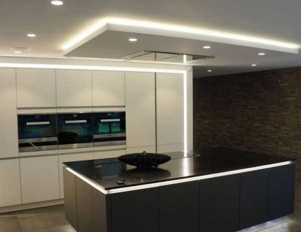 جدید ترین مدل های سقف کاذب برای آشپزخانه