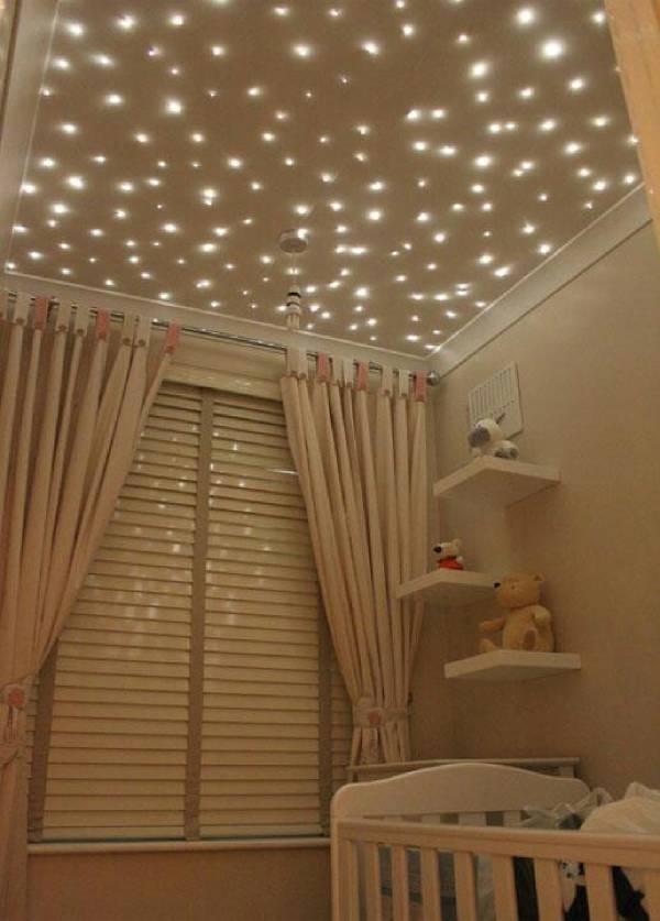 اجرای سقف کاذب برای اتاق خواب کودک
