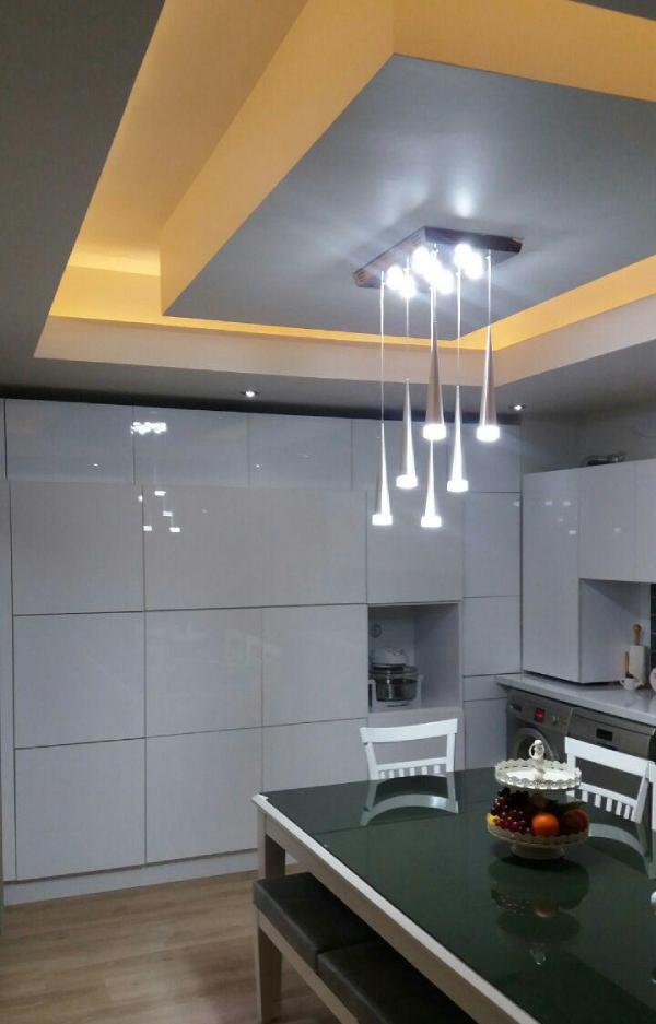 انواع سقف کاذب آشپزخانه با کناف