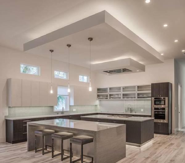 انواع سقف کاذب مشبک آشپزخانه