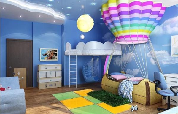 بازسازی اتاق خواب کودک
