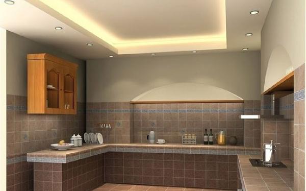 سقف کاذب آشپزخانه با کناف