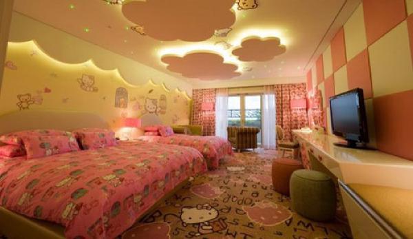 سقف کاذب اتاق خواب کودک