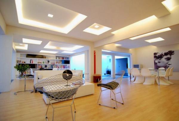 سقف کاذب کناف برای پذیرایی خانه