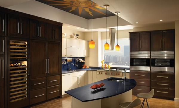 طرح های سقف کاذب آشپزخانه