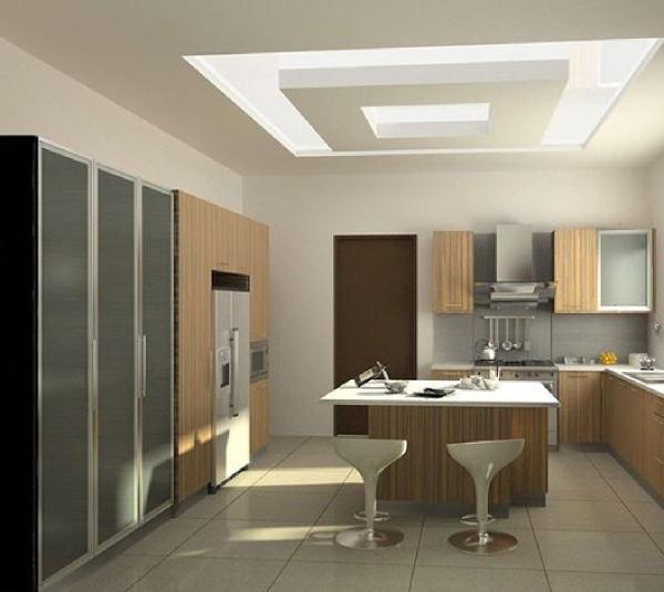 نمونه سقف کاذب کناف برای آَشپزخانه