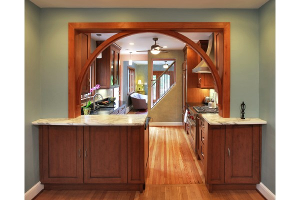 آرک چوبی آشپزخانه