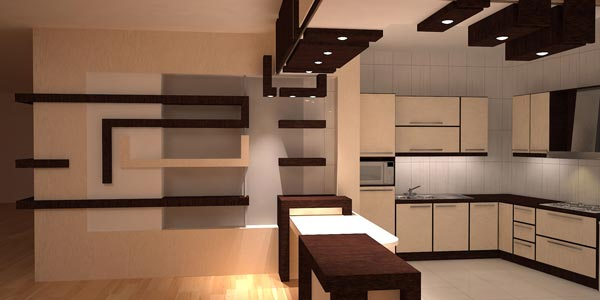 آرک آشپزخانه کناف