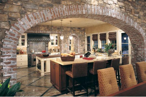 نصب و اجرای ارک آجری آشپزخانه