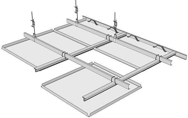 سقف کاذب سازه پنهان