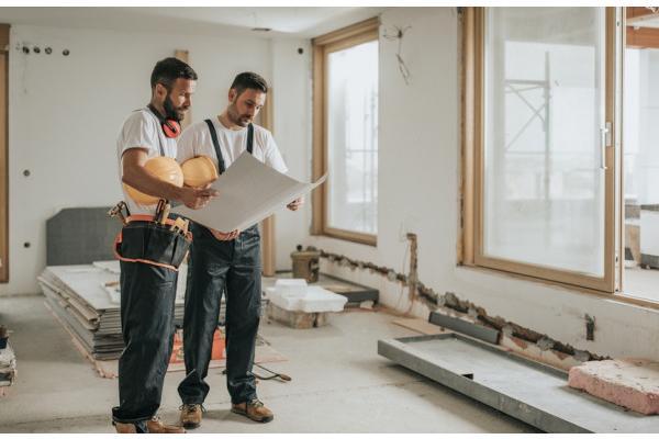 گچ کاری و نصب سقف کاذب در بازسازی منزل