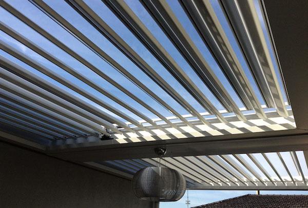اجرای سقف لوور