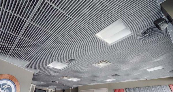 سقف کاذب سازه نمایان