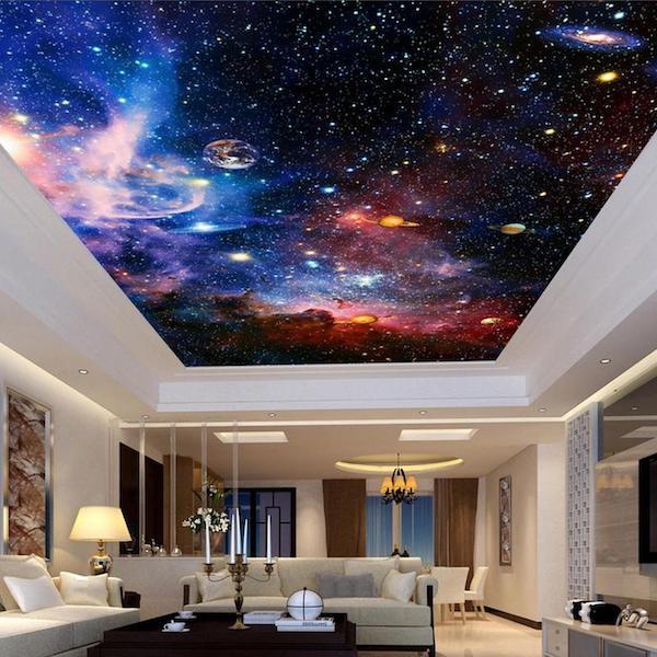 نصب سقف کششی کهکشان