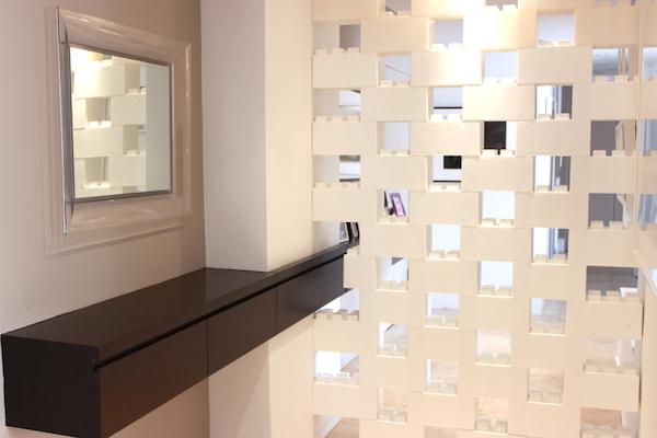 نمونه دیوار جدا کننده