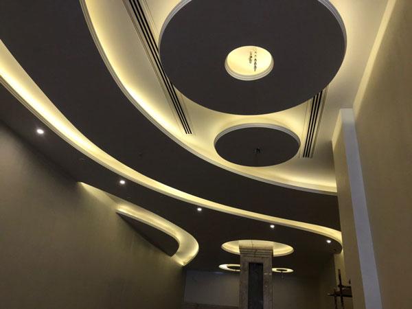 طراحی و اجرای سقف دکور