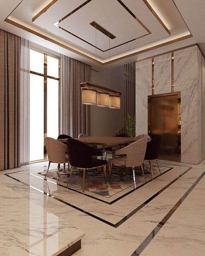 طراحی داخلی و سقف کاذب