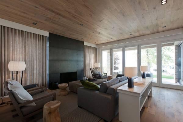 سقف کاذب چوبی چیست