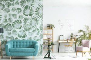 دلایل برتری کاغذ دیواری نسبت به رنگ