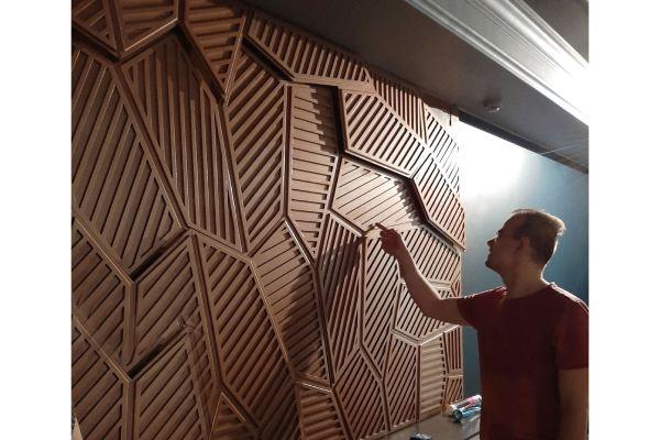 پانل های سه بعدی دکوراتیو