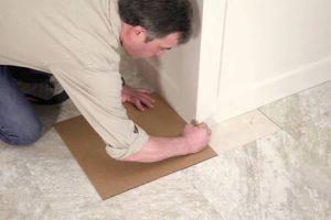زیرسازی کفپوش PVC