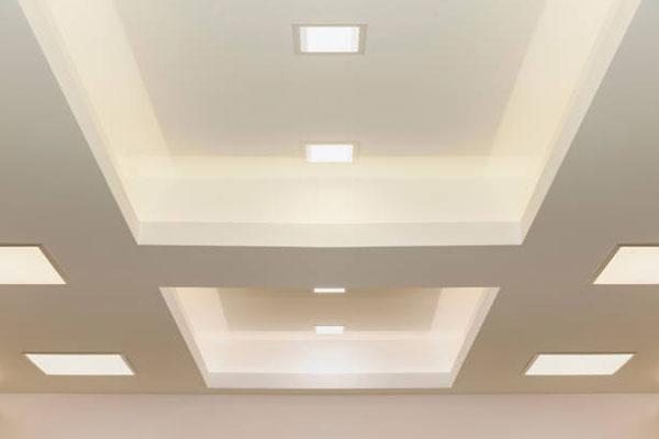 تاثیر ارتفاع سقف کناف بر نورپردازی