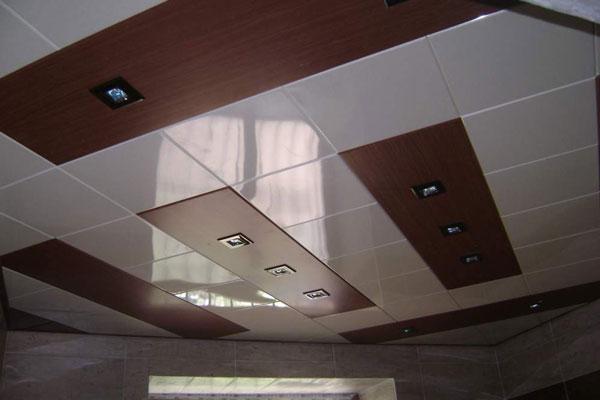 تایل سقفی فلزی