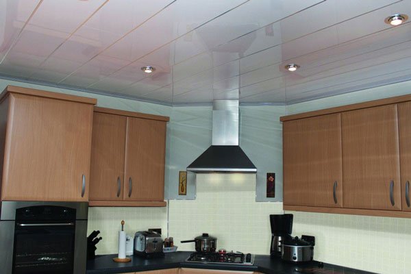 سقف پی وی سی آشپزخانه