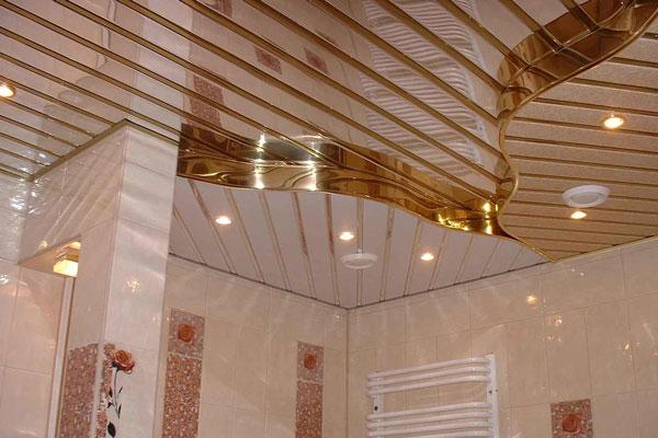 پنل ریلی سقف کاغذ فلزی