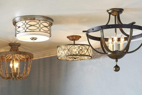 لوستر برای روشنایی سقف کاذب