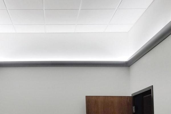 نورپدازی سقف با نورمخفی
