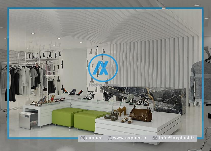 طراحی و دکوراسیون داخلی بوتیک